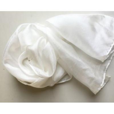 100% Silketørklæde 90X90 cm ponge 5