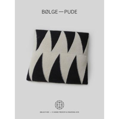 Bølge-Pude af Hanne Meedom
