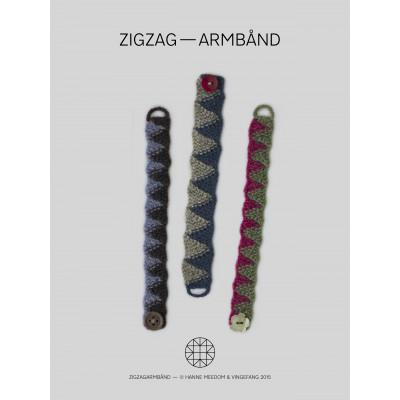 ZigZag- Armbånd af Hanne Meedom