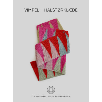 Vimpel-Halstørklæde af Hanne Meedom