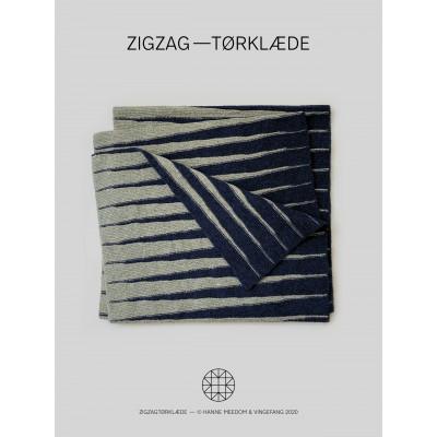 ZigZag-Tørklæde af Hanne Meedom