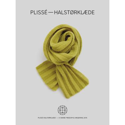 Plissé- Halstørklæde af Hanne Meedom