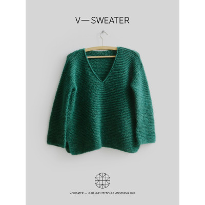 V-Sweater af Hanne Meedom