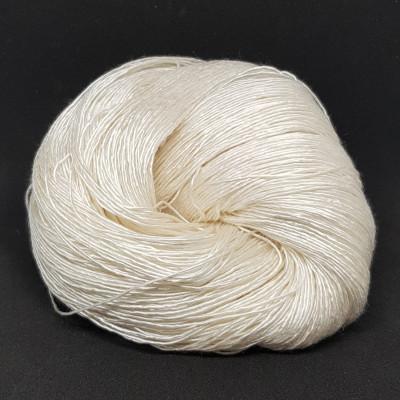 Pure Silk Singles 1 trådet Mulberry silke - 100G - 400m