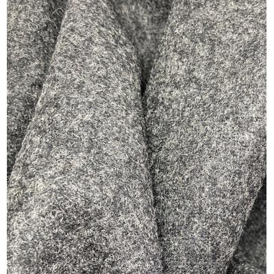 Mørk Grå Woolmark 100 % New Wool 150 cm