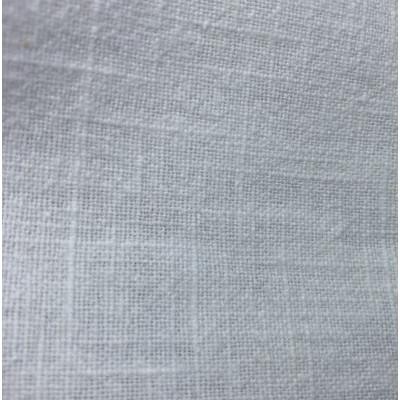 Hør 100% - Stonewashed - Hvid - 136 cm