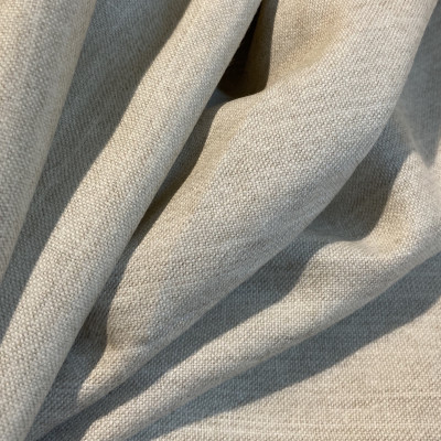 100 % Uld - Muslin - Ufarvet - 160 cm